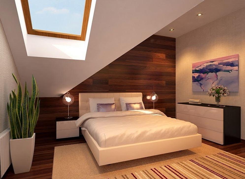 çift için minimalist oda