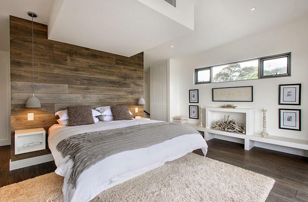 çiftler için minimalist odalar