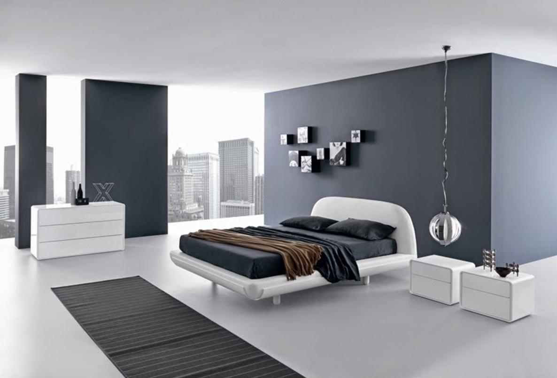 minimalist-modern-yatak odası