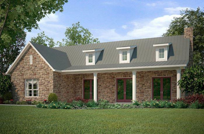 iki parçalı planlı ev