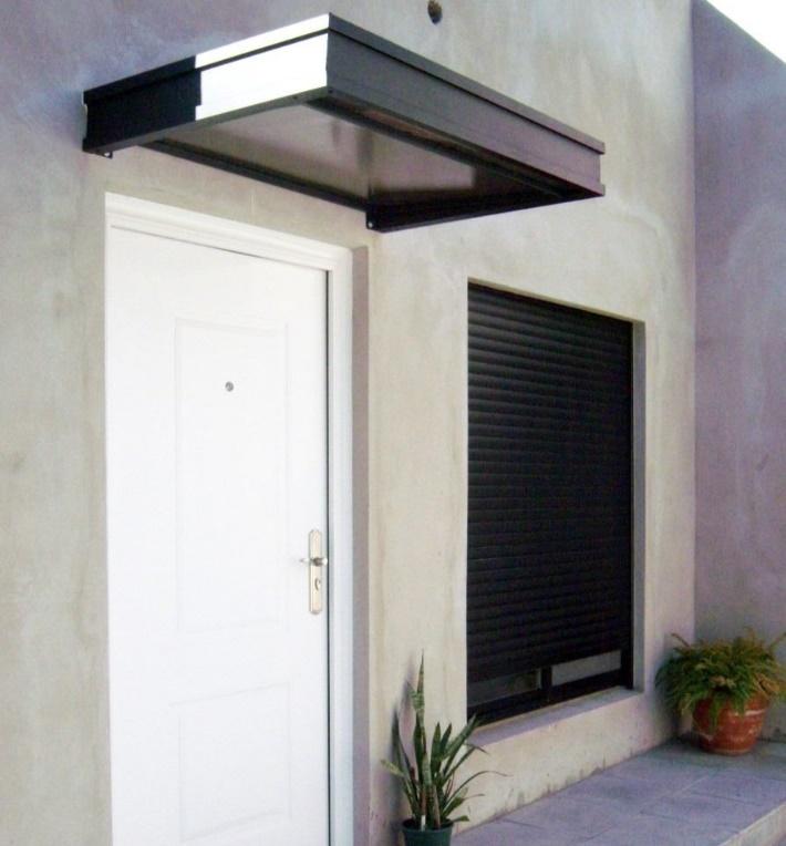 modern kapılar için saçak modelleri